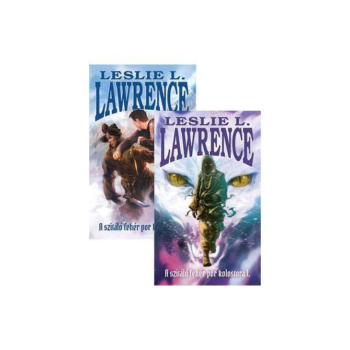 Leslie L. Lawrence-A szitáló fehér por kolostora 1-2. (új példány)