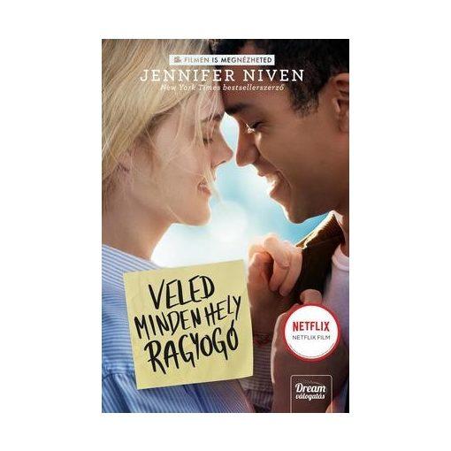 Jennifer Niven-Veled minden hely ragyogó - Filmes borító (új példány)