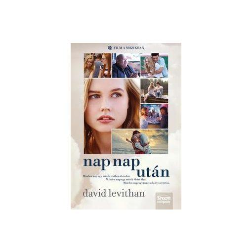 David Levithan-Nap nap után - Filmes borítóval (új példány)