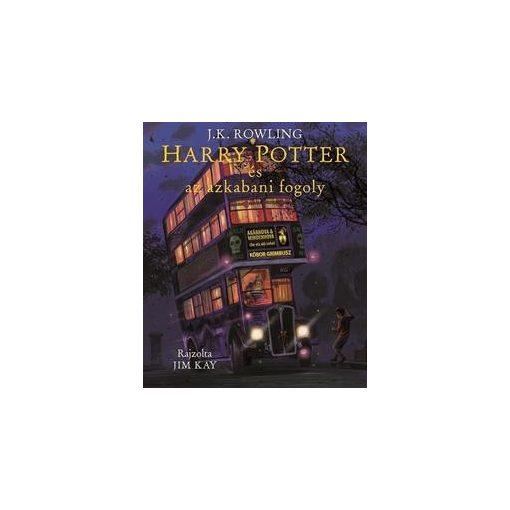 Harry Potter és az azkabani fogoly - Illusztrált kiadás (új példány)