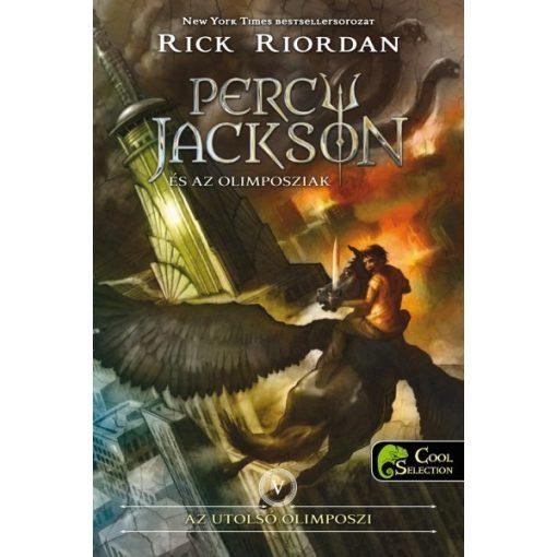 Rick Riordan - Percy Jackson és az olimposziak-Az utolsó olimposzi 5./puha (új példány)