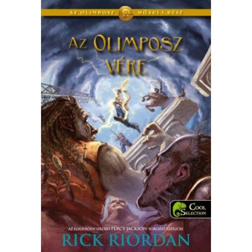 Rick Riordan - Az Olimposz hősei-Az Olimposz vére 5. (új példány)